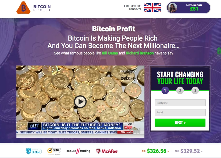 Bitcoin Profit Review Crypto Automated Trading Robot ...
